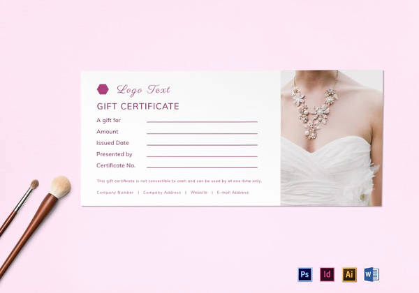 Google Docs Gift Certificate Template New 9 Travel Gift Certificate Templates Doc Pdf Psd