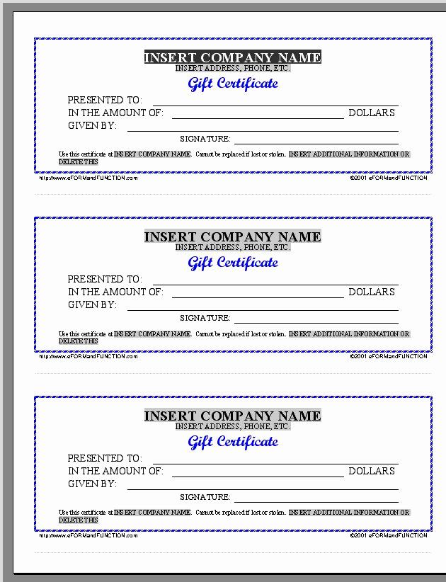 Google Docs Gift Certificate Template Unique Gift Certificate Template Google Docs – Printable Receipt