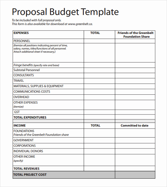 Grant Budget Template Excel Beautiful Grant Proposal Bud Template Excel