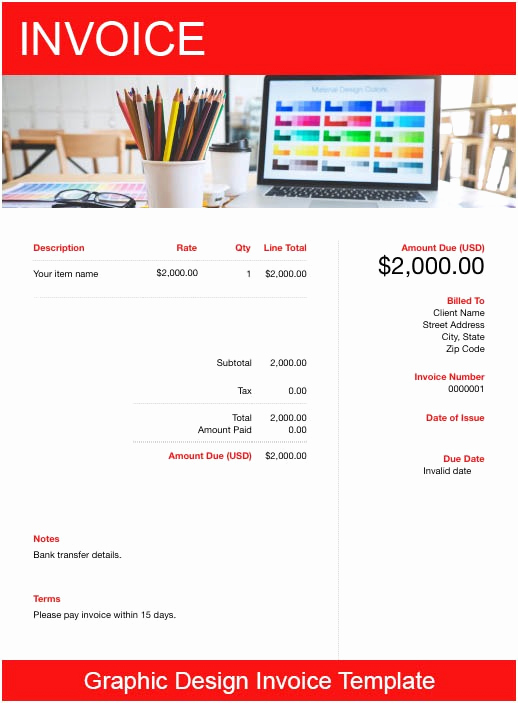 Graphic Design Invoice Template Pdf Beautiful Graphic Design Invoice Template Free Download