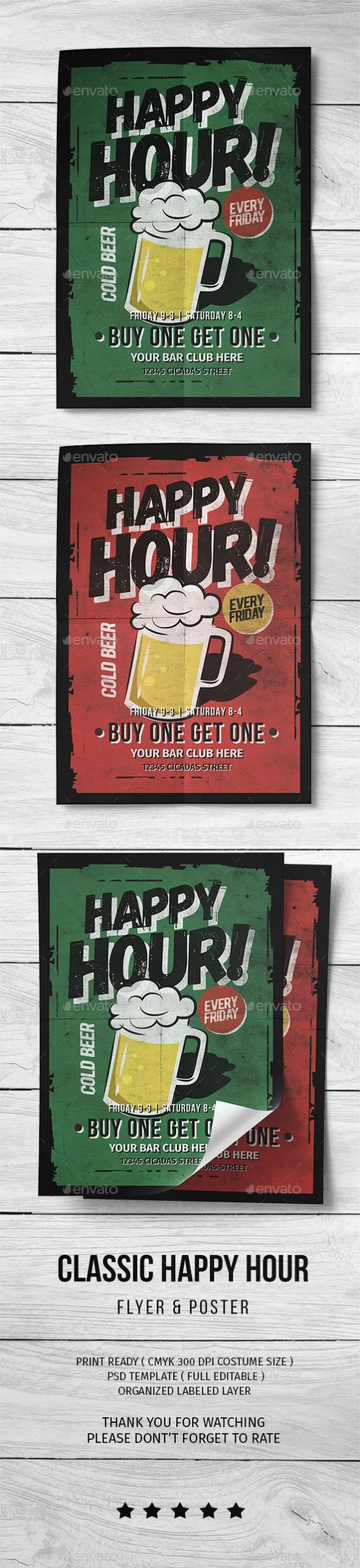 Happy Hour Menu Template Best Of Classic Happy Hour Flyer by Lilynthesweetpea