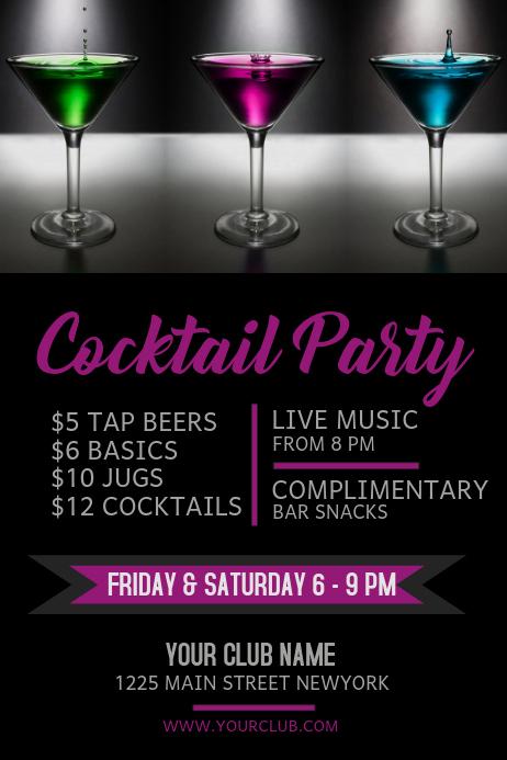 Happy Hour Menu Template Fresh Copy Of Happy Hour Bar Flyer
