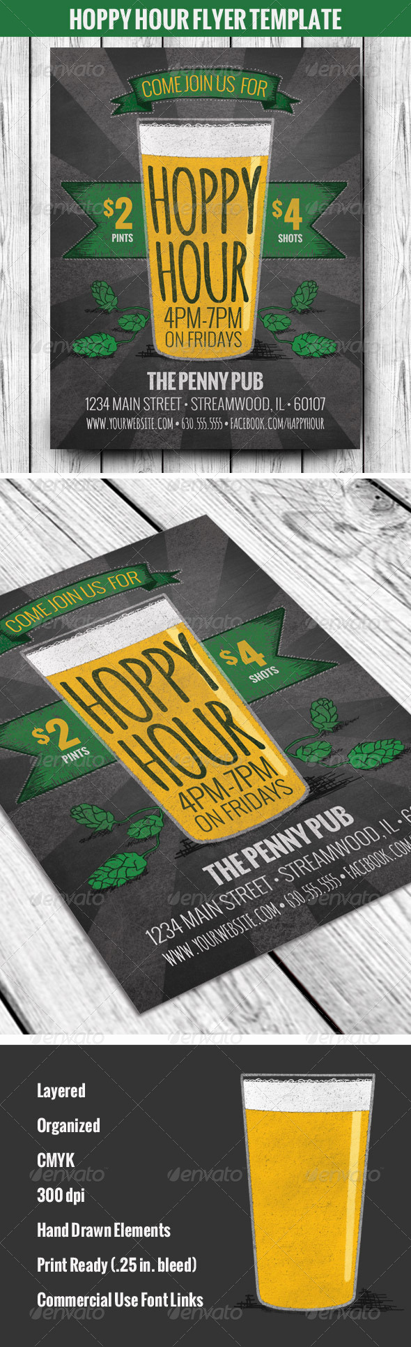 Happy Hour Menu Template Fresh Pin by Awesome Graphic Design On Flyer Templates