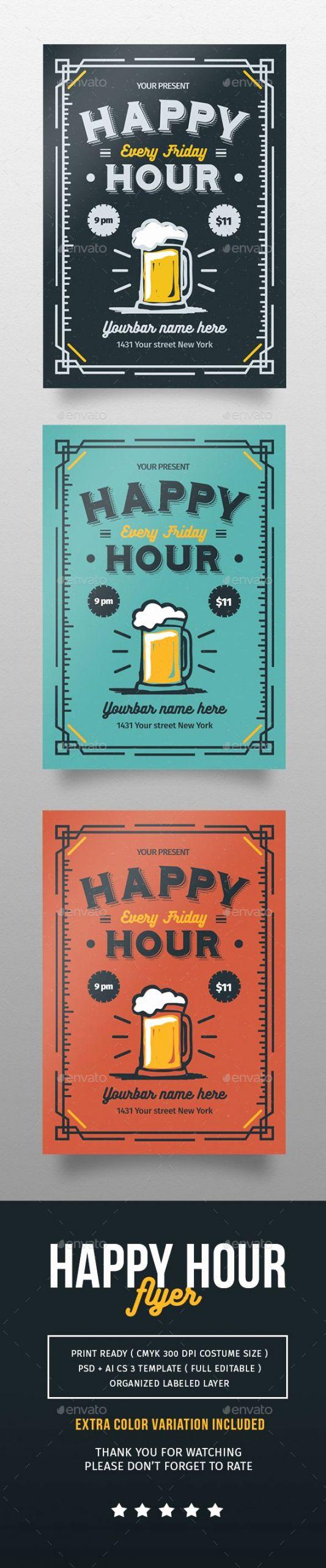 Happy Hour Menu Template Inspirational Best 25 Happy Hour Ideas On Pinterest