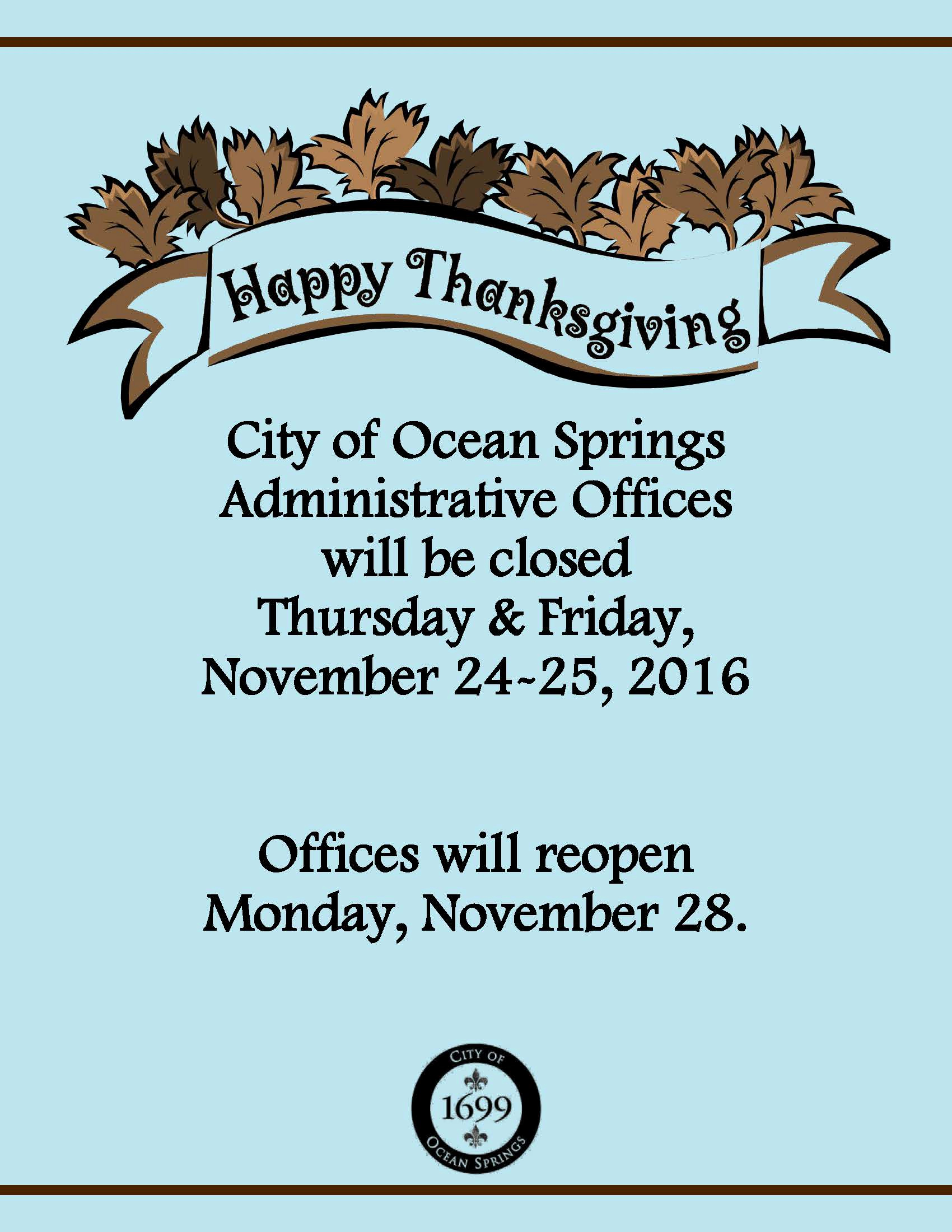 Holiday Closing Notice Template New Notice Holiday Fice Closure for Thanksgiving