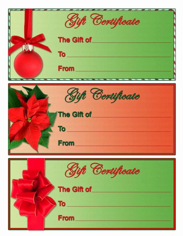 Homemade Gift Certificate Template Awesome Homemade Gift Certificate