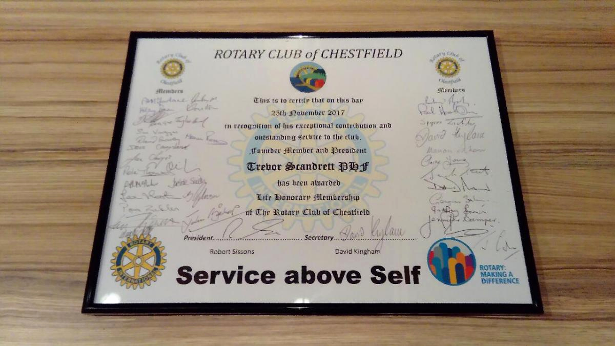 Honorary Member Certificate Template Beautiful Rotary Honorary Membership Certificate