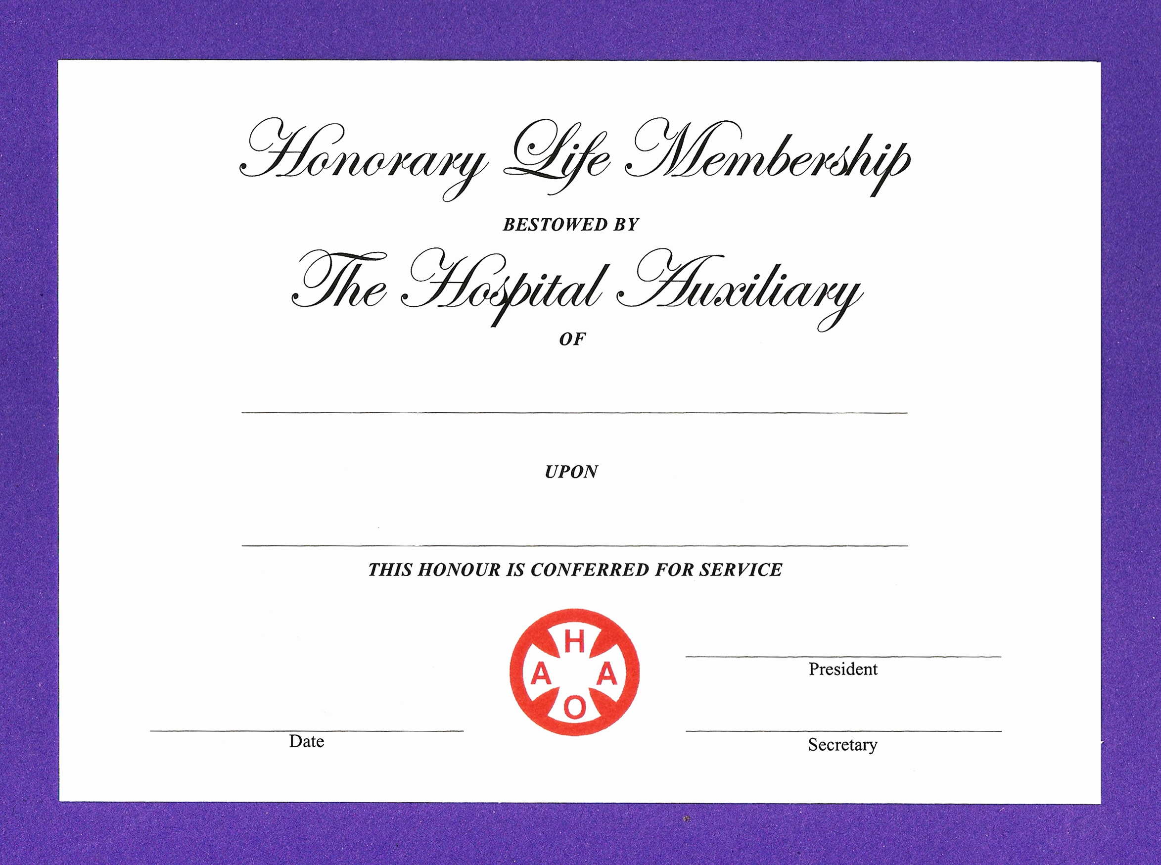 Honorary Member Certificate Template Inspirational 14 Honorary Life Certificate Templates Pdf Docx