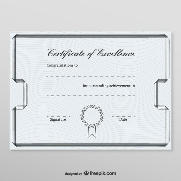 Honorary Member Certificate Template New Honorary Certificate Template Free Vectors