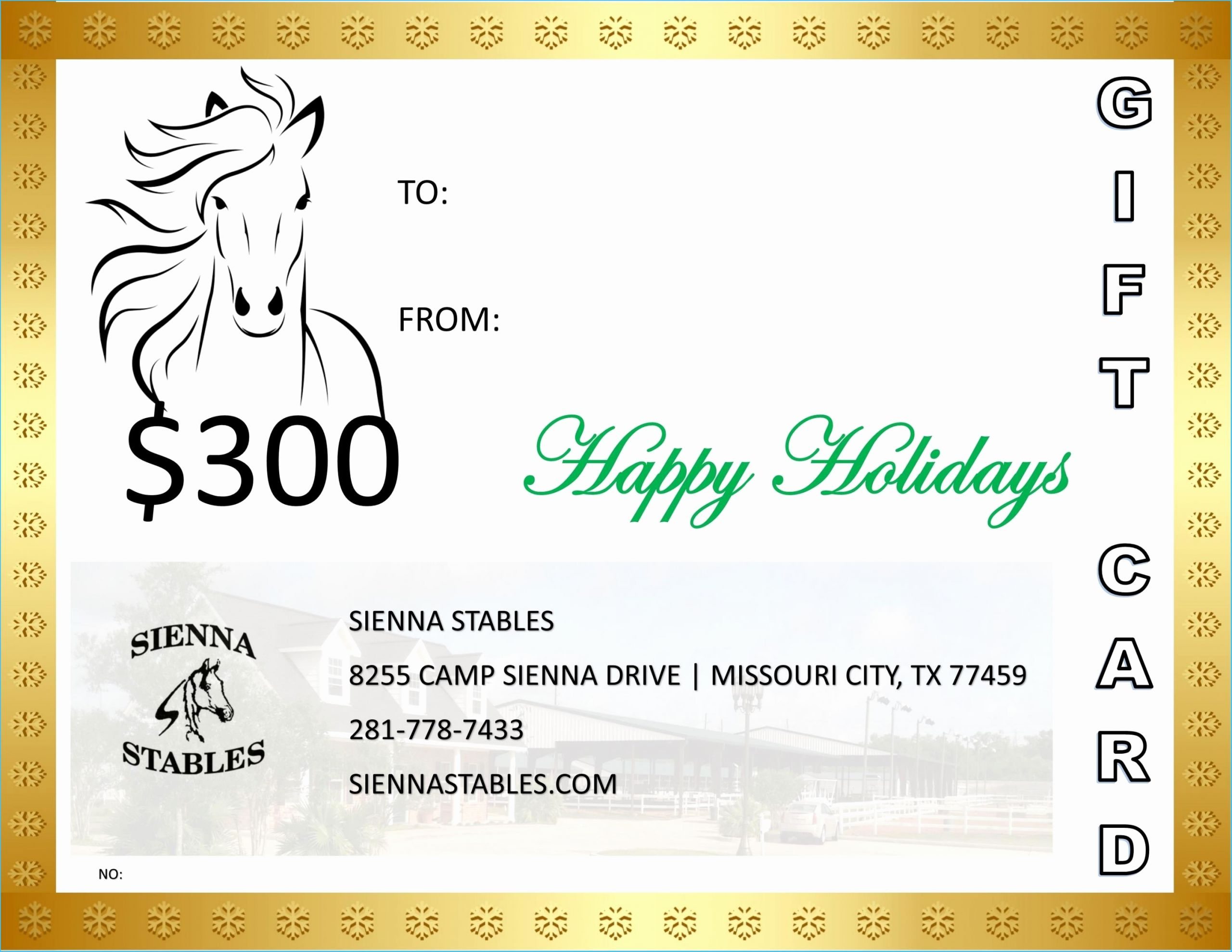 Horseback Riding Gift Certificate Template Awesome Horseback Riding Gift Certificate Template 9538