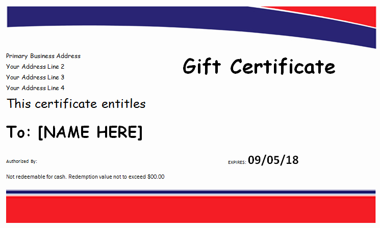 Hotel Gift Certificate Template Inspirational Hotel Gift Certificate Template for Ms Word