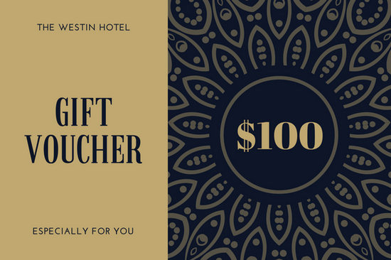 Hotel Gift Certificate Template Lovely Hotel Gift Certificate Templates by Canva