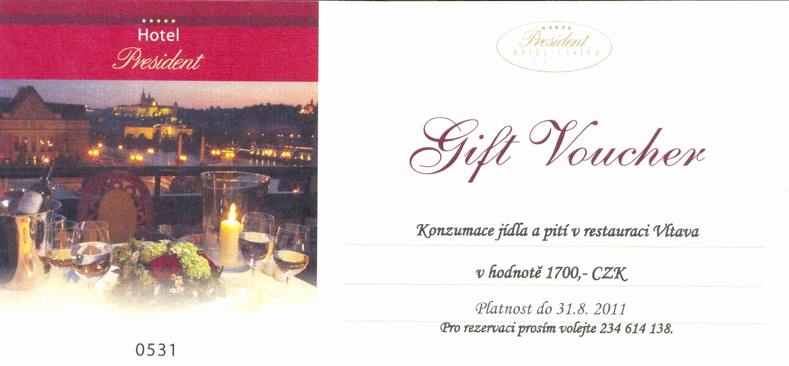 Hotel Gift Certificate Template Luxury Hotel Voucher Template Frompo