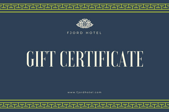 Hotel Gift Certificate Template Unique Hotel Gift Certificate Templates Canva