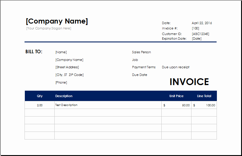 House Cleaning Invoice Template Best Of Cleaning Services Invoice