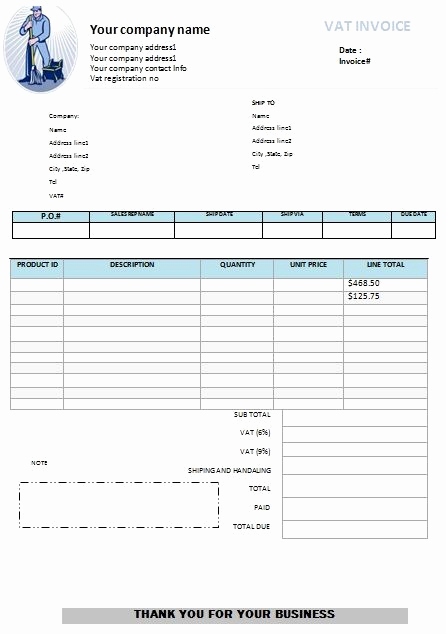 House Cleaning Invoice Template Elegant Window Cleaning Invoice Template