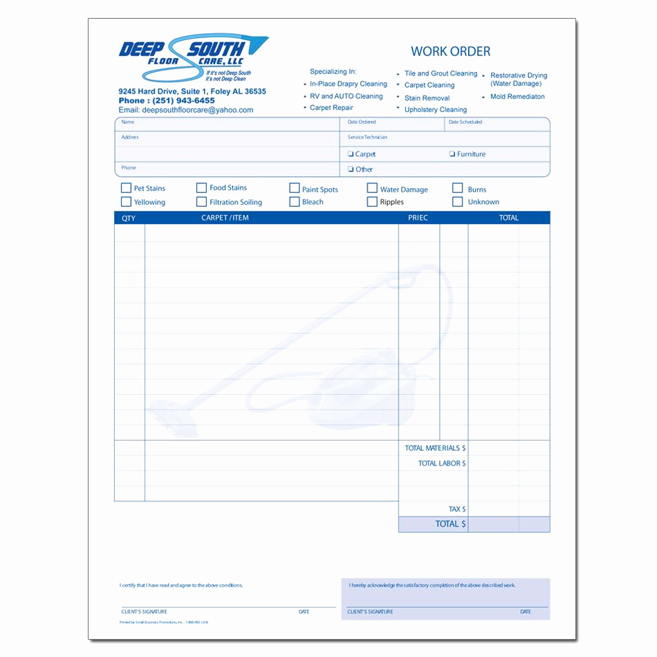 House Cleaning Invoice Template Lovely Cleaning Service Invoice
