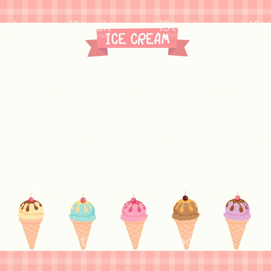 Ice Cream Menu Template Luxury Icecream Menu Template Stock Illustration Download Image