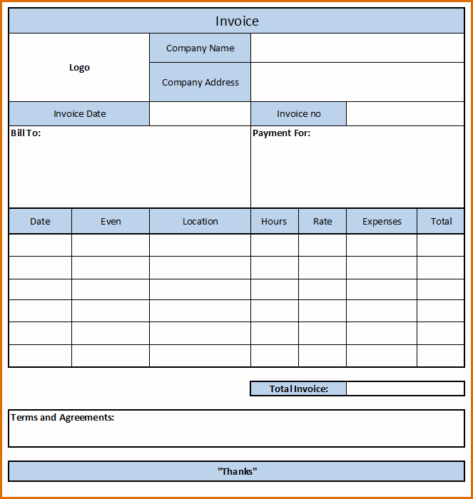 Independent Contractor Invoice Template Free Inspirational 10 Independent Contractor Invoice Template