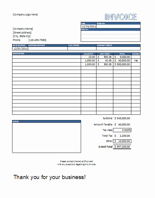 Independent Contractor Invoice Template Pdf Awesome Free Construction Invoice Template Word