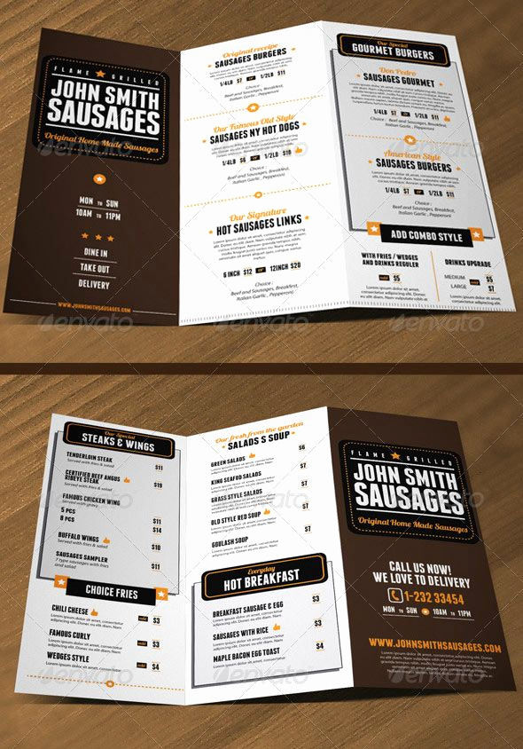 Indesign Menu Template Free Beautiful 17 Best Images About Indesign On Pinterest