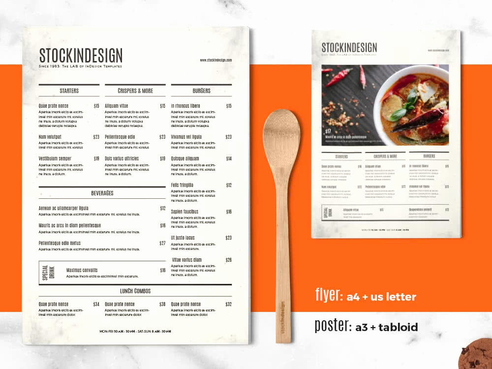 Indesign Menu Template Free Beautiful 65 Fresh Indesign Templates and where to Find More