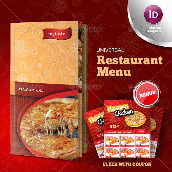 Indesign Menu Template Free Lovely 23 Creative Restaurant Menu Templates Psd & Indesign