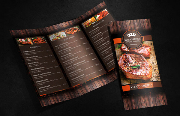 Indesign Menu Template Free New Food Menu Template 36 Free Word Pdf Psd Eps