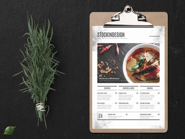 Indesign Menu Template Free Unique Download Overview Template Stockindesign