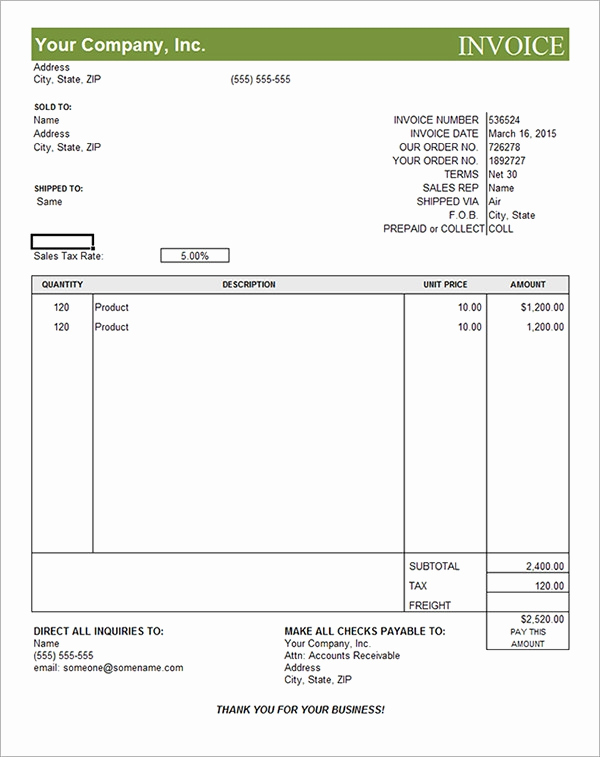 International Commercial Invoice Template Word Fresh Free 22 Mercial Invoice Templates In Google Docs