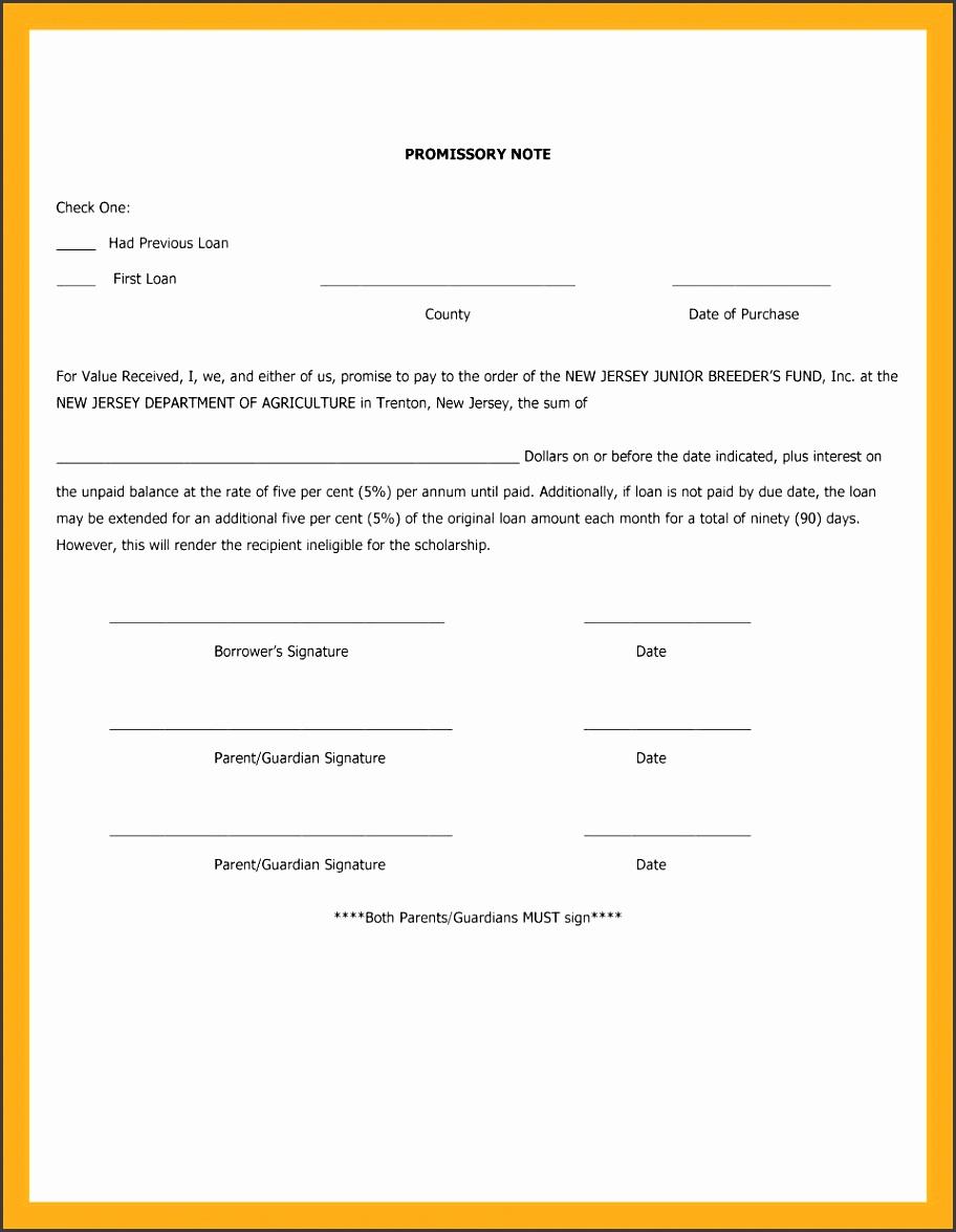 International Promissory Note Template New 7 Promissory Note form Template Sampletemplatess