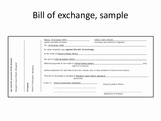 International Promissory Note Template New Methods Of Payment In International Trade