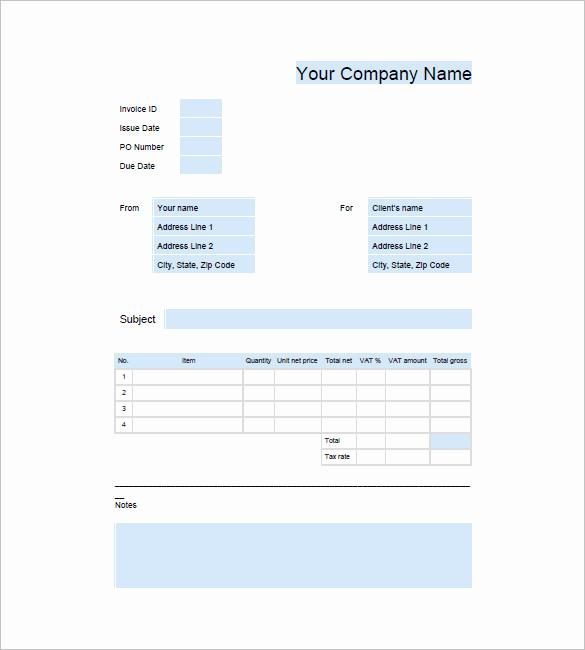 Invoice Template for Google Docs Beautiful Download Invoice Template Google Docs