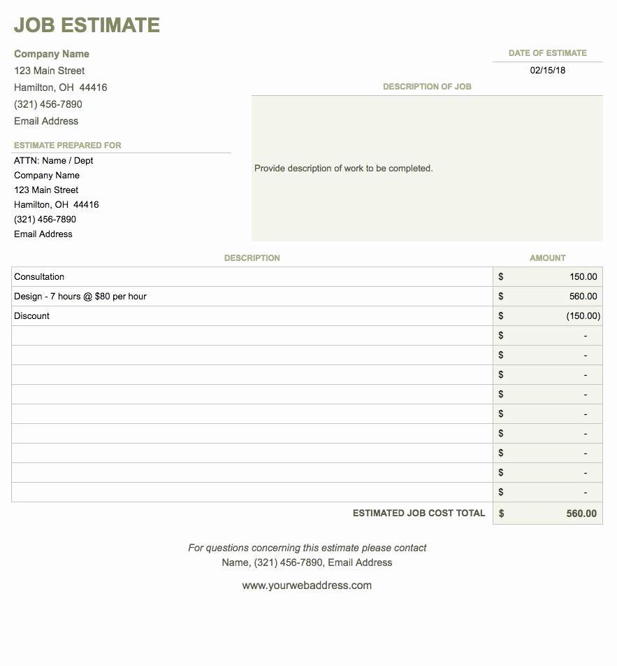 Invoice Template for Google Docs New Free Google Docs Invoice Templates