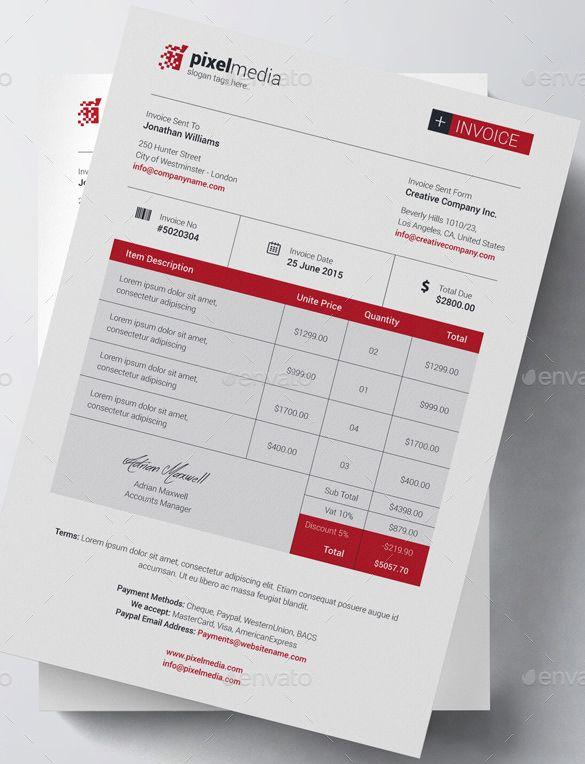 Invoice Template for Mac Elegant Business Bill Of Sale Invoice Template Invoice Template