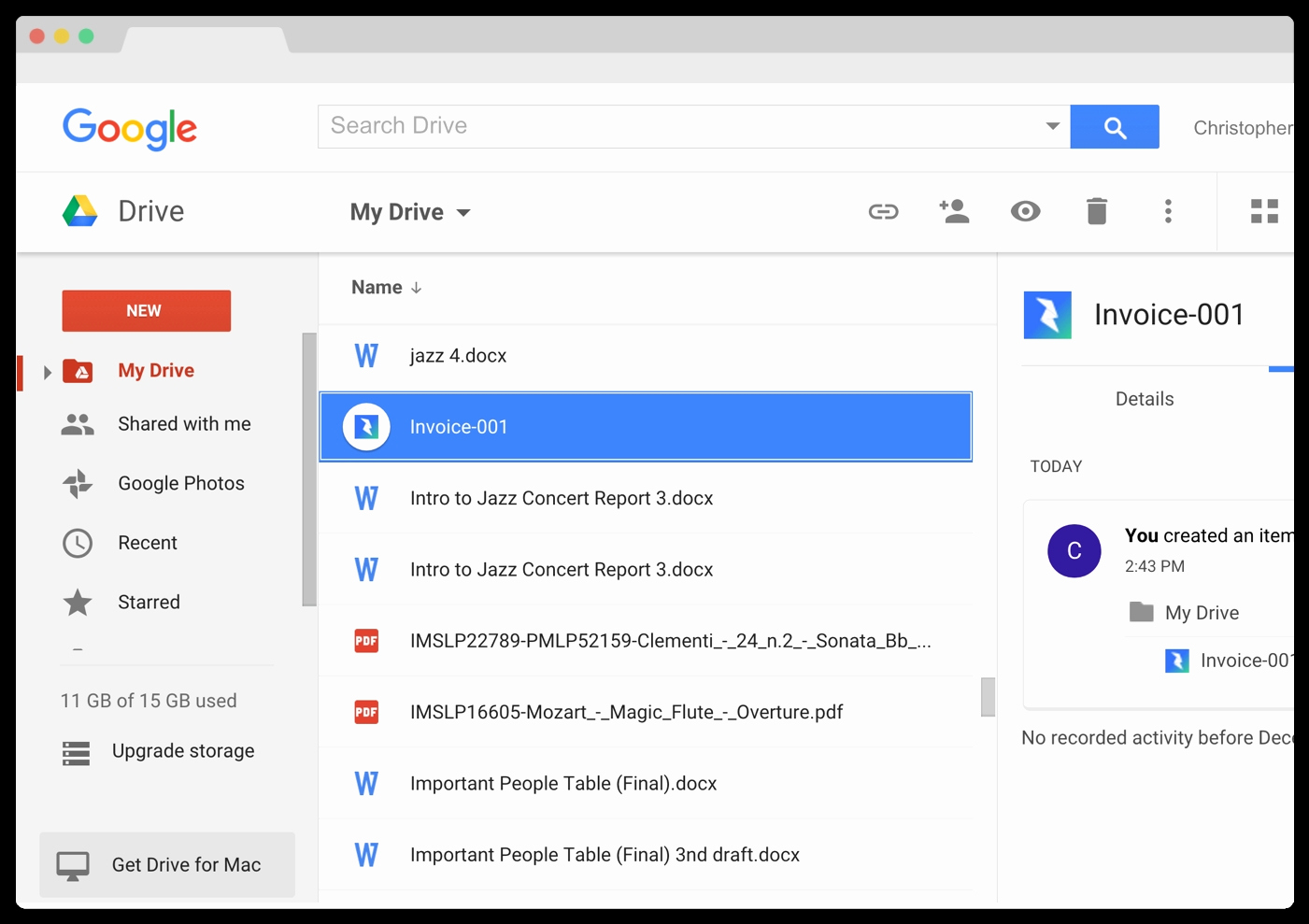 Invoice Template Google Drive Awesome Google Apps Invoices Invoice Template Ideas