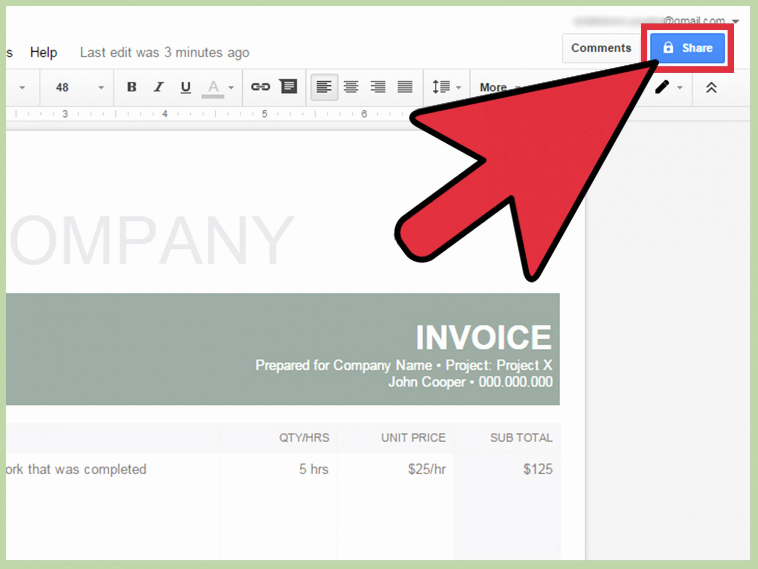 Invoice Template Google Drive Luxury Google Drive Invoice Template