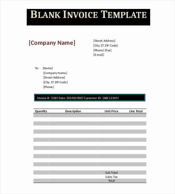 Invoice Template Google Drive New Google Invoice Template 31 Free Word Excel Pdf format