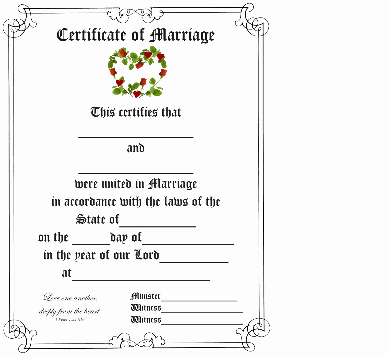Islamic Marriage Certificate Template New Latest islamic Marriage Certificate Template Waraw