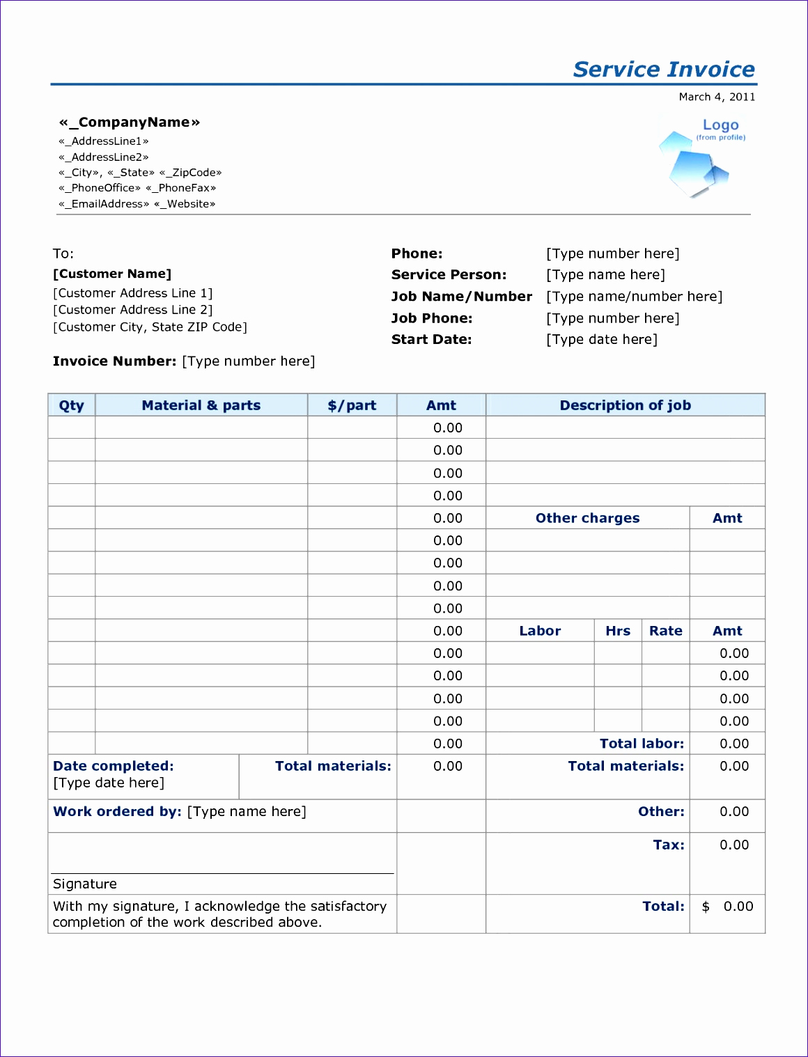 Labor Invoice Template Excel Elegant 6 Construction Schedule Template Excel Free Download