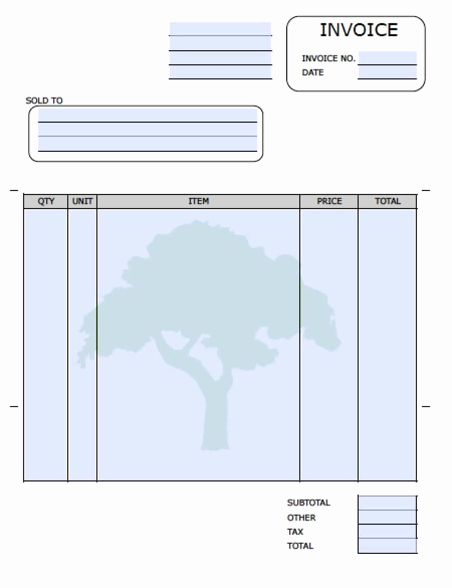 Landscaping Invoice Template Free Best Of Pin by Marla Johnson On Do It Yourself