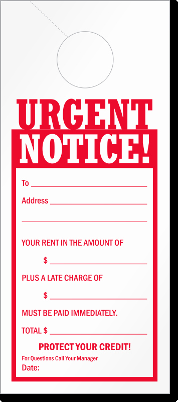 Late Rent Notice Template New Late Rent Notice Free Printable Documents
