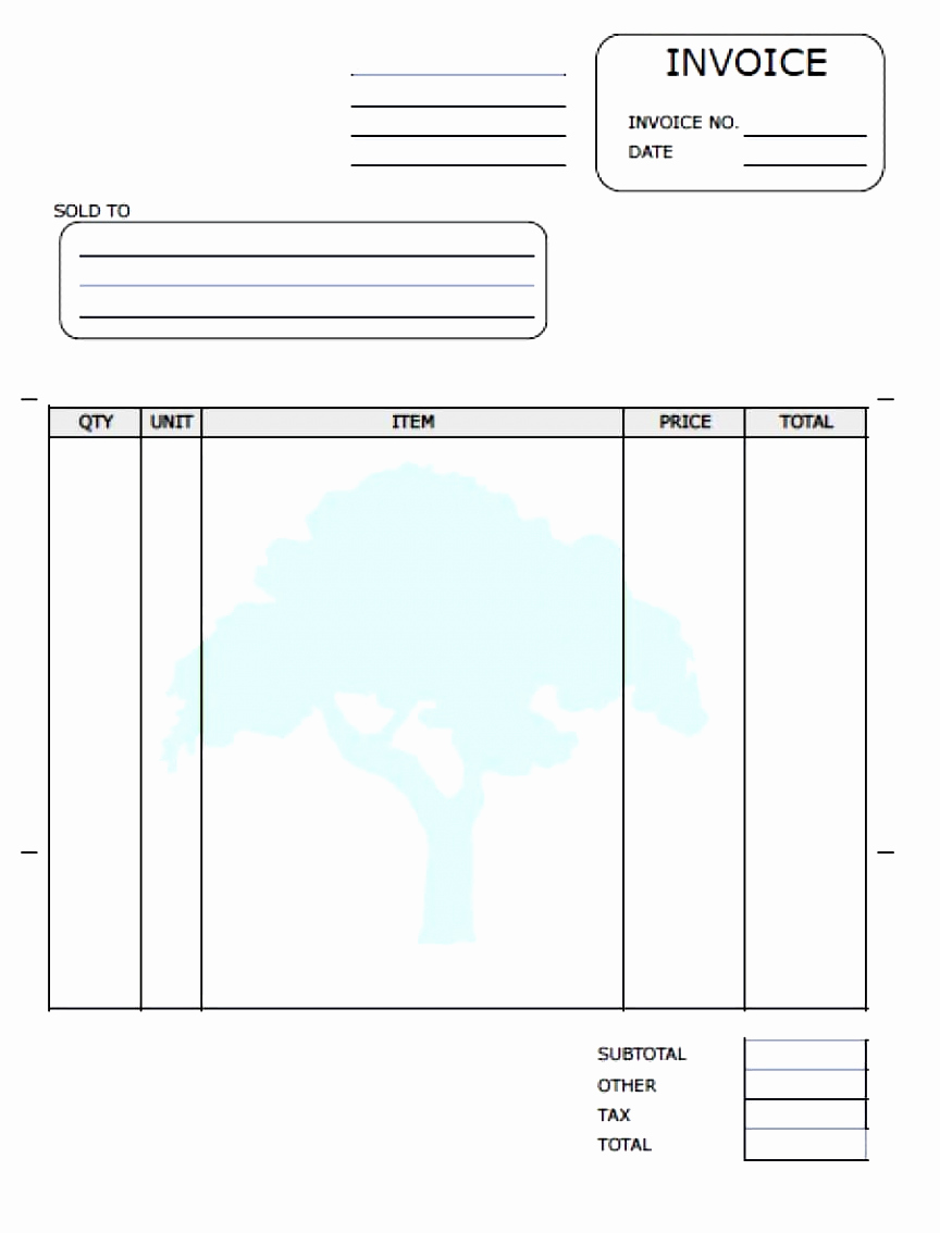 Lawn Care Invoice Template Pdf Beautiful 5 Mock Invoice Template Wruuu