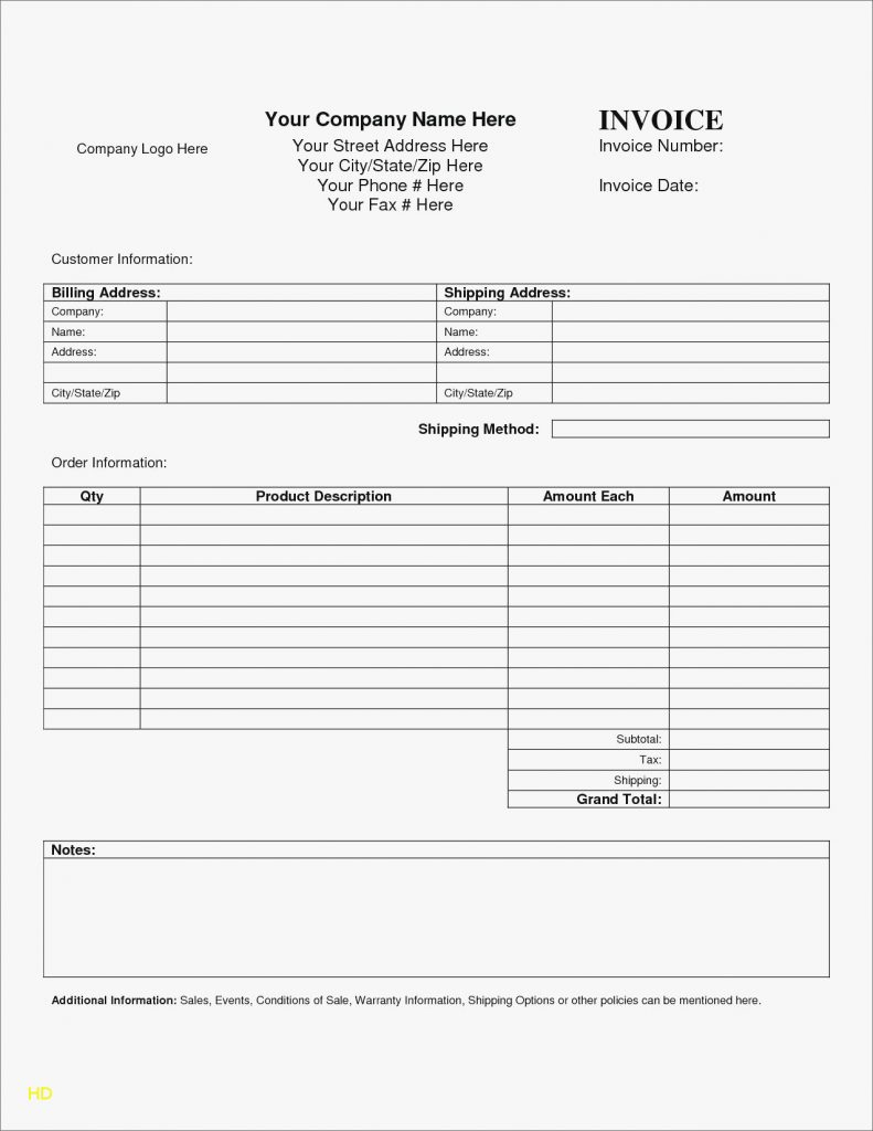Lawn Service Invoice Template Excel Elegant Spreadsheet for Lawn Mowing Business Download with Regard