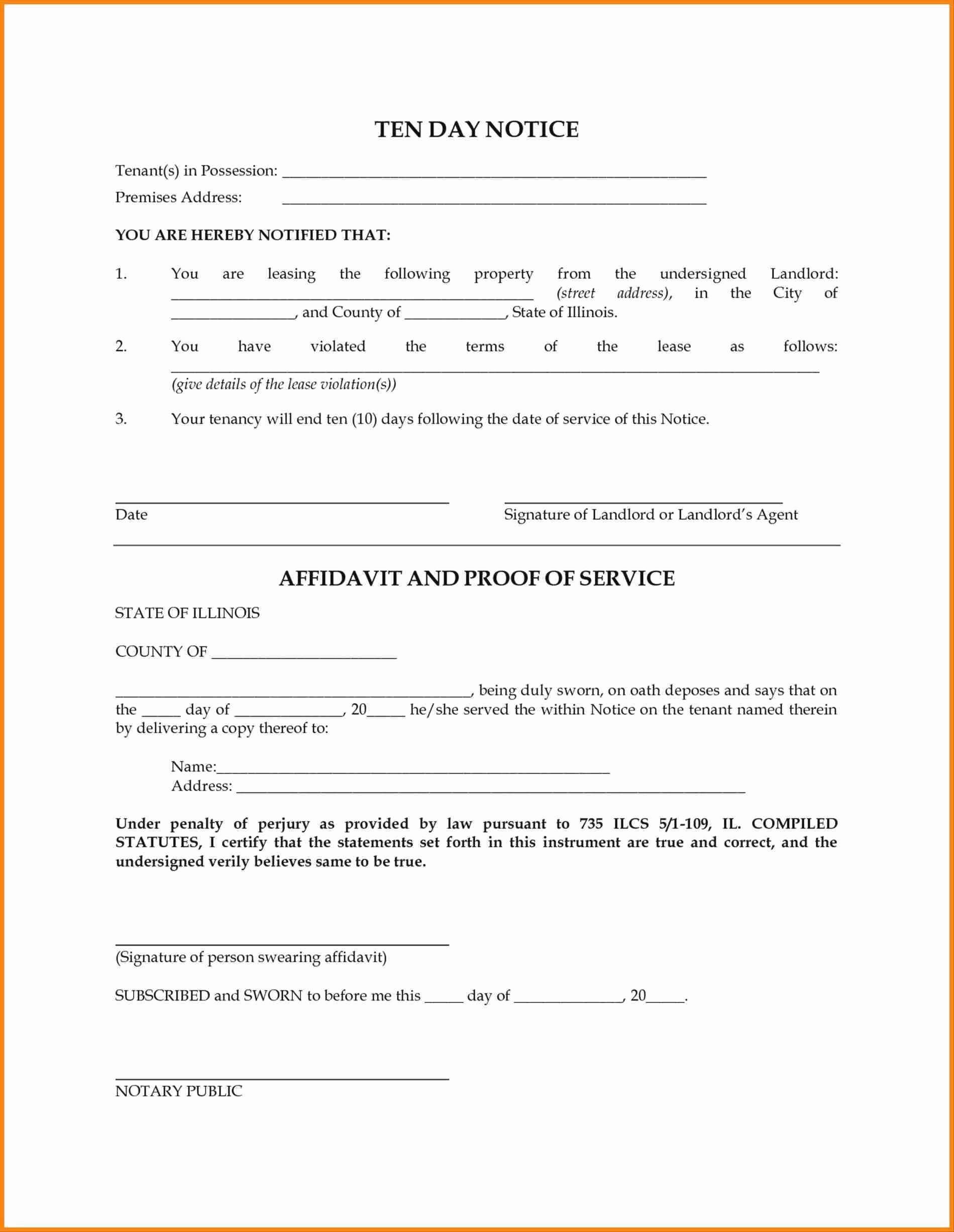 Lease Violation Notice Template Elegant 10 11 Notice Of Lease Violation Letter