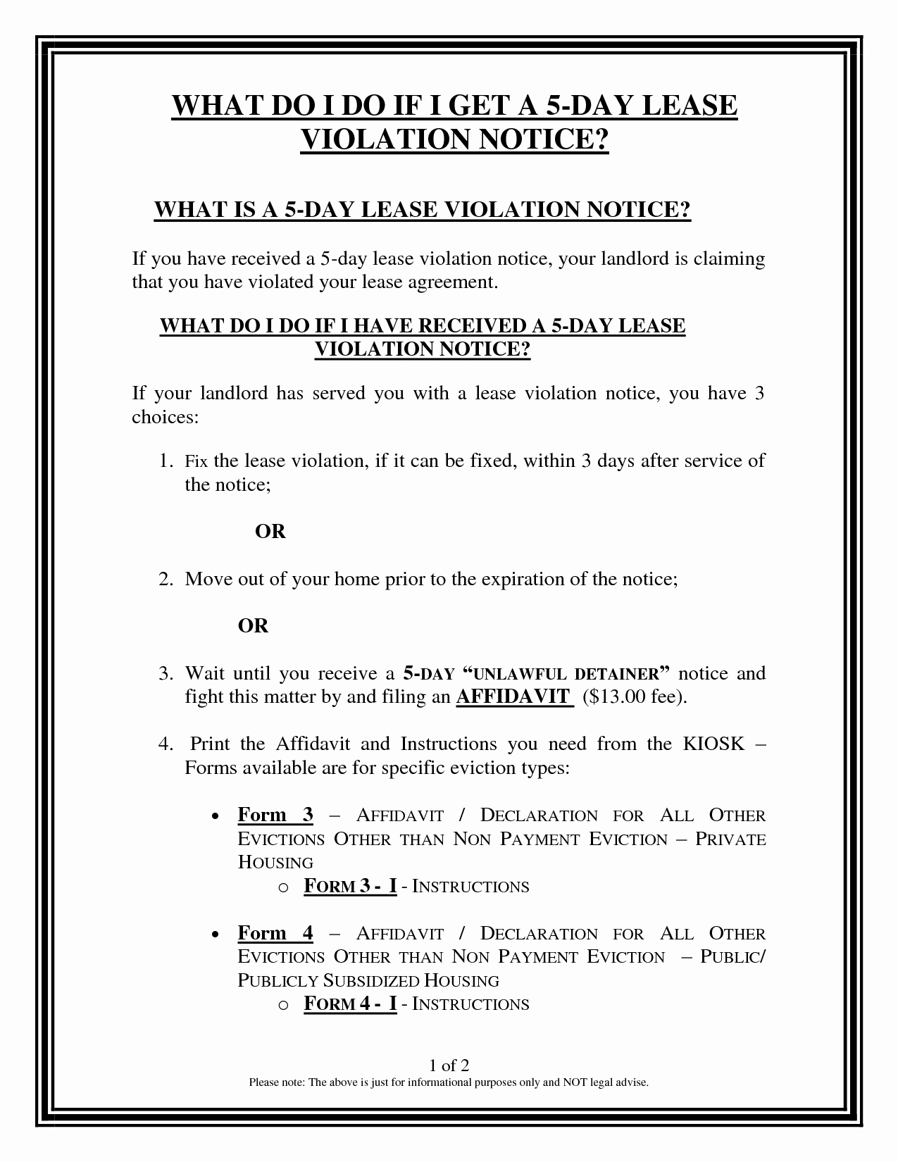 Lease Violation Notice Template Luxury Other Template Category Page 157 Spelplus