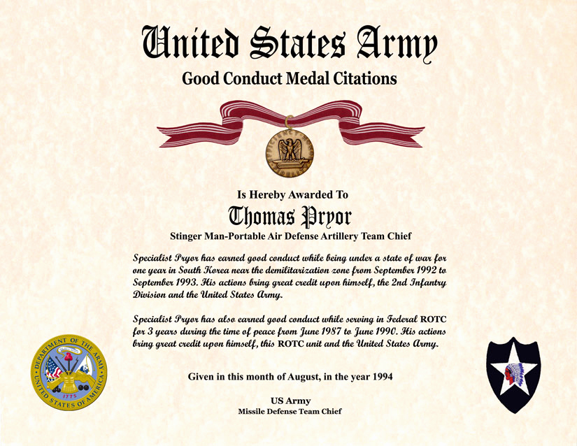 Life Saving Award Certificate Template Elegant Individual Award Certificate Military Training Unit Awards