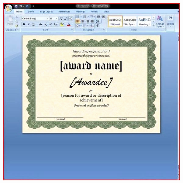 Life Saving Award Certificate Template Lovely Free Printable Award Certificates 10 Great Options for A
