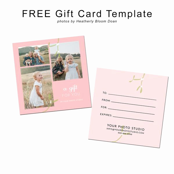 Magazine Subscription Gift Certificate Template Beautiful Free Graphy Gift Card Template Magazine Mama