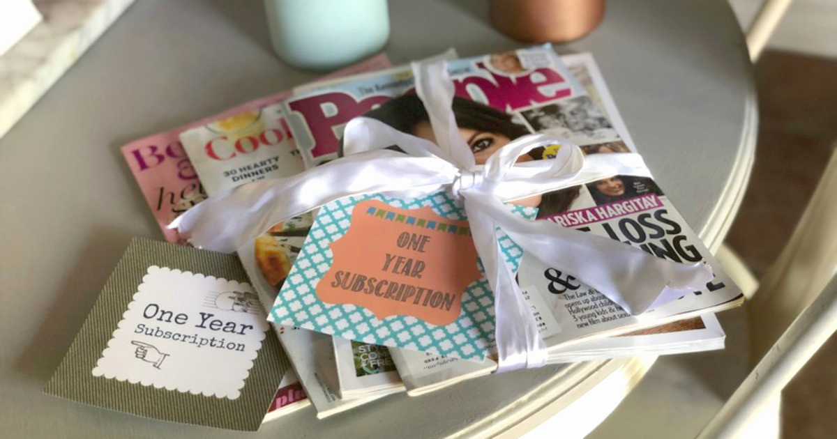 Magazine Subscription Gift Certificate Template Best Of Free Printable Magazine Gift Subscription Cards Tags